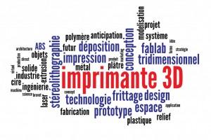 Impression 3D Fab Lab Bourges avec Boréal
